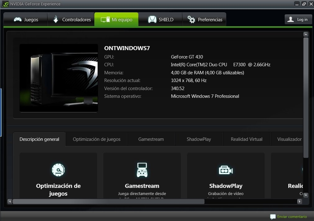 nvidia experience free download