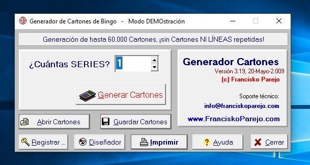 Generador Cartones Bingo 3 00 Descargar Para Pc Gratis