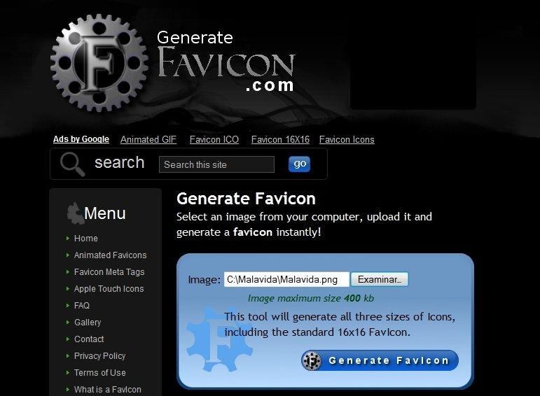 Generate Favicon Webapps image 3