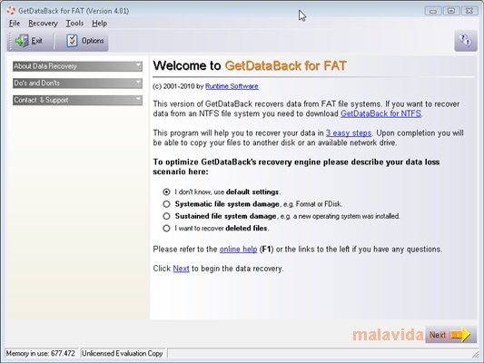 GetDataBack for FAT image 5