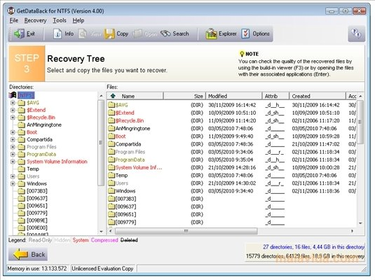 Download GetDataBack for FAT & NTFS