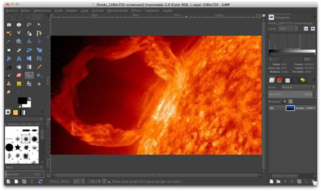 GIMP Mac image 3