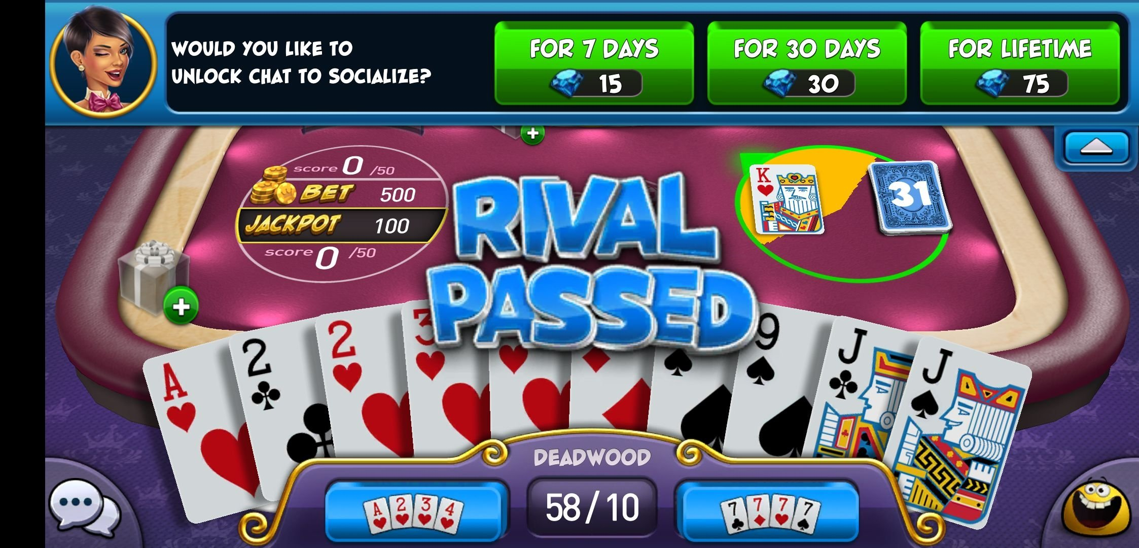 Gin Rummy Plus 6 5 0 Download For Android Apk Free