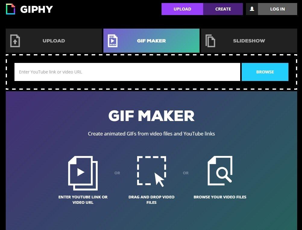 Giphy GIF Maker Webapps image 5