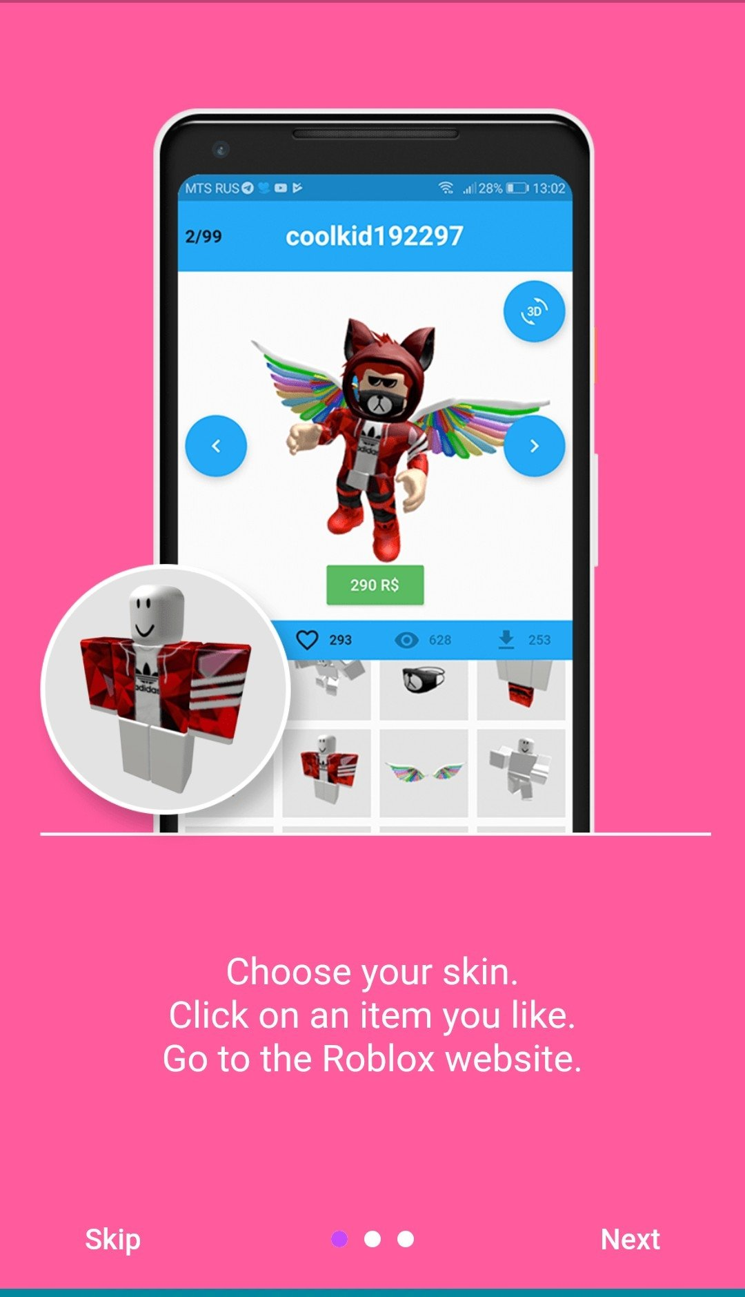 Roblox Popular Skins Girl Skins For Roblox 15 2 3 Download For Android Apk Free