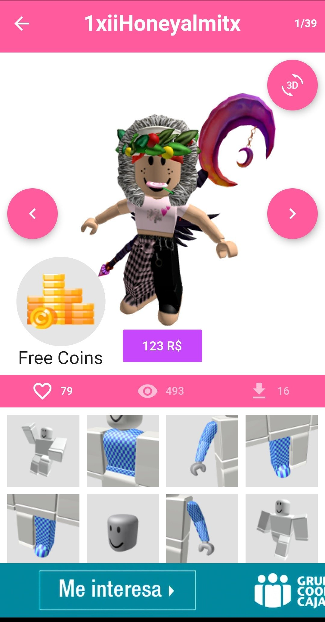Free Roblox Outfits For Girls .com Girl Skins For Roblox 15 2 3 Download For Android Apk Free