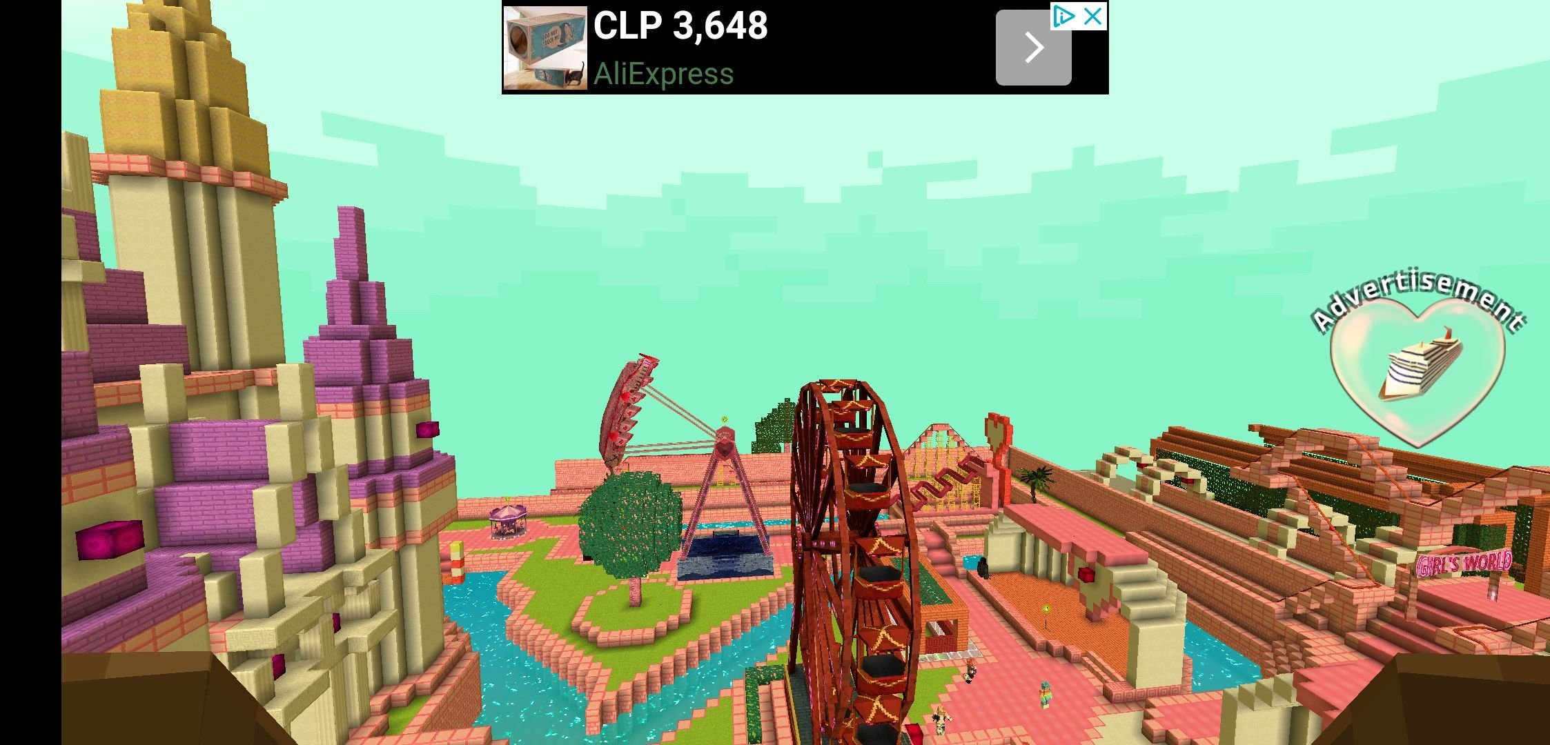 Girls Theme Park Craft 1 3 - Download for Android APK Free