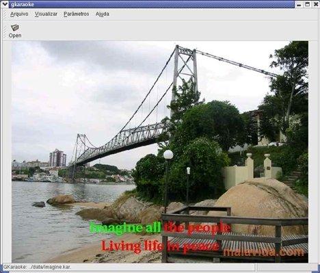 GKaraoke Linux image 2