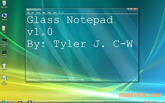 Glass Notepad image 2