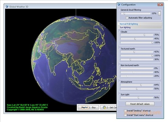 Global Weather 3D 3 3 - Download for PC Free