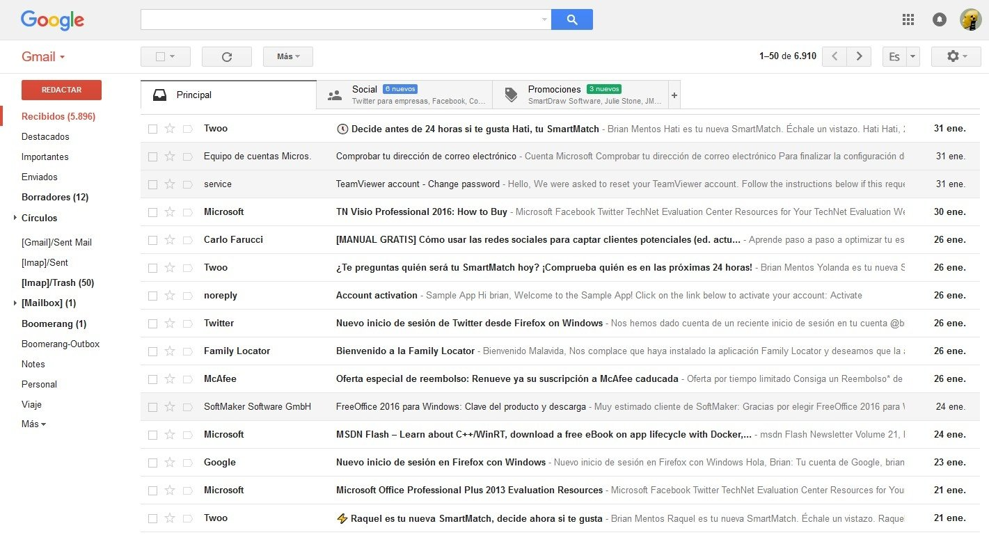 Gmail Webapps image 8