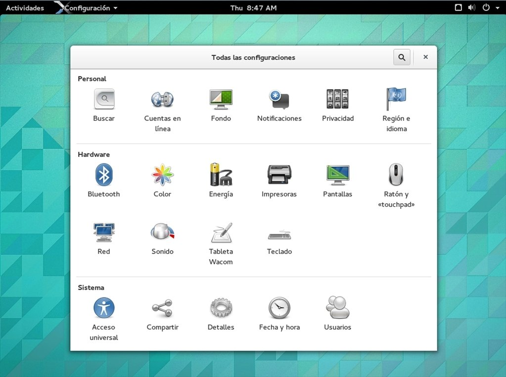 GNOME Linux image 4
