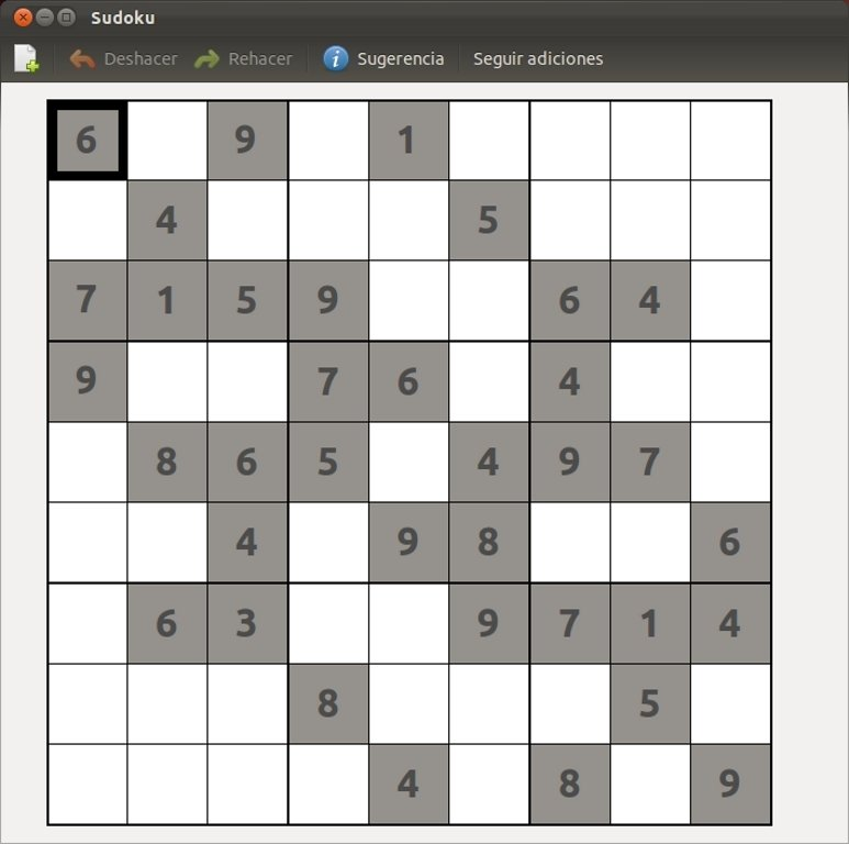 GNOME Sudoku Linux image 3