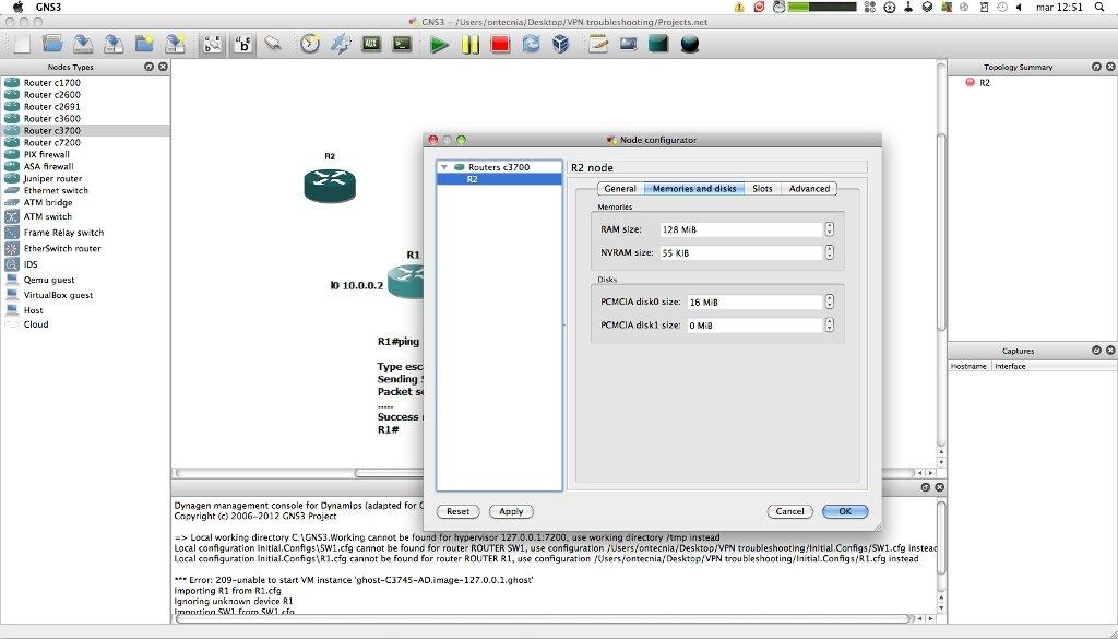 gratuitement le logiciel gns3