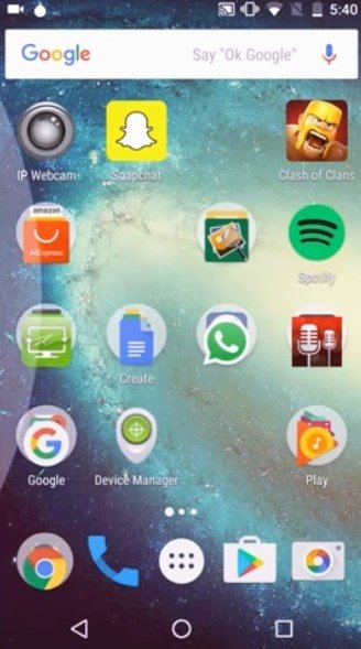 GO Launcher Android image 8