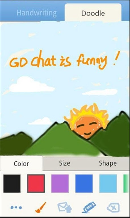 how to download go sms