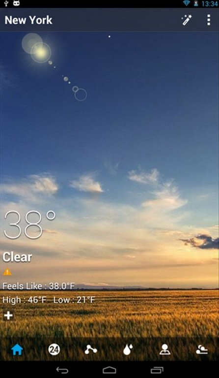 GO Weather Android image 8
