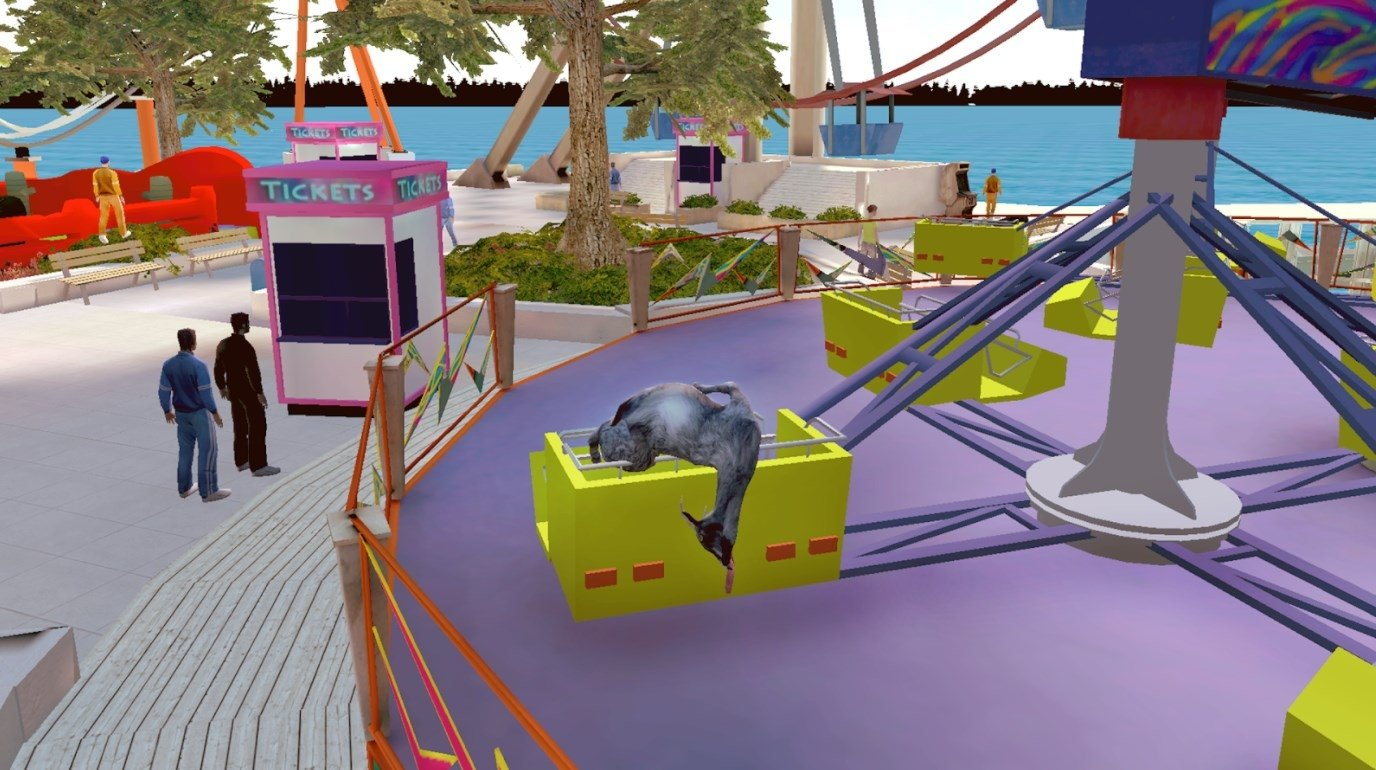 download goat simulator apk pc