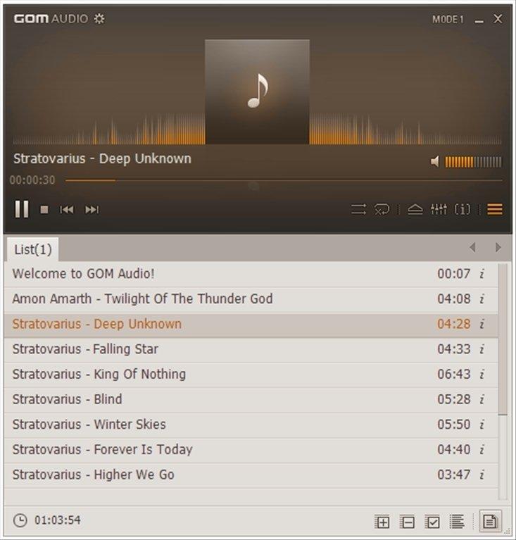 Resultado de imagen para GOM Audio Player 2