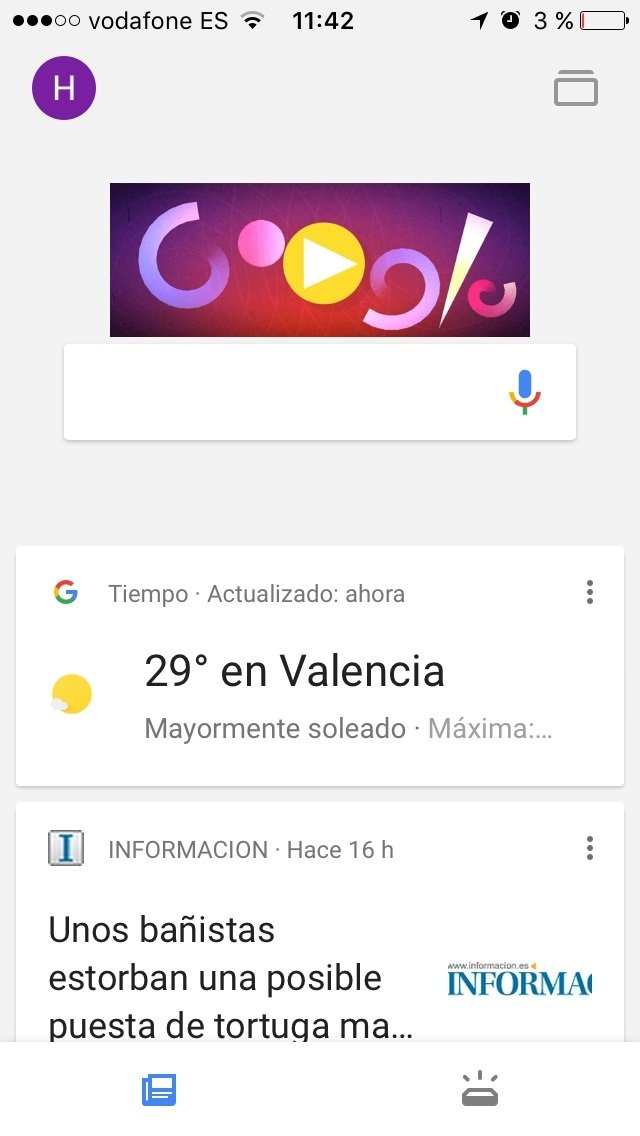 Google App iPhone image 5