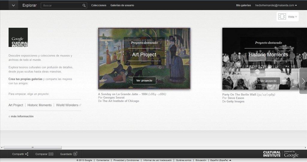 как скачать картинку из google art project