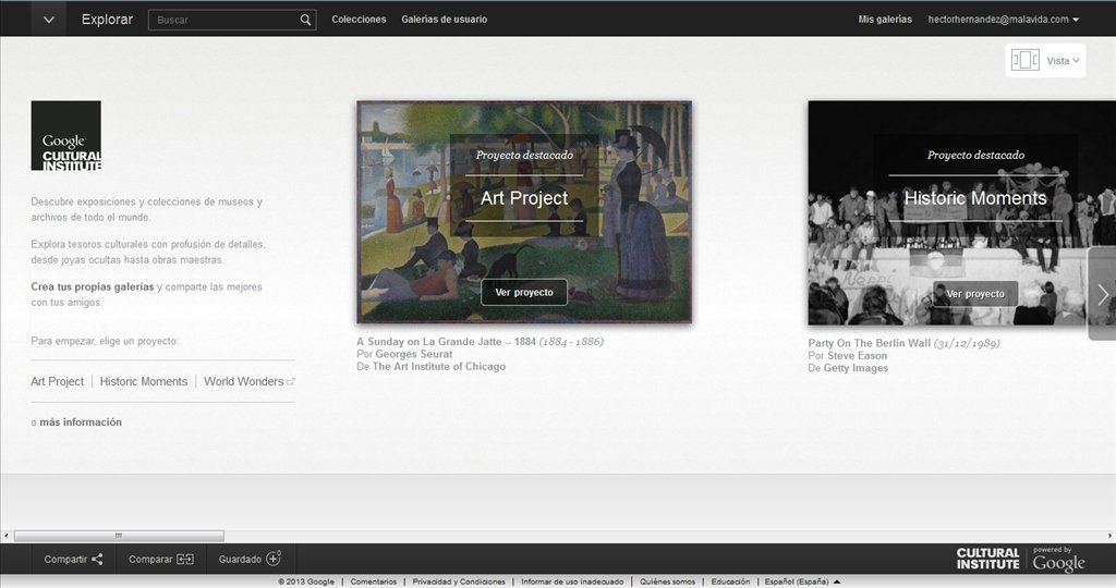 Google Art Project Webapps image 6