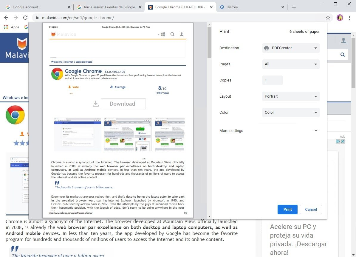 Google Chrome 77 0 3865 75 - Download for PC Free