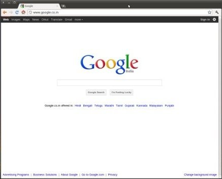 Google Chrome Linux image 3