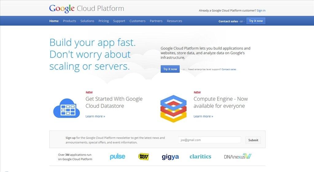 Google Cloud Platform Webapps image 4