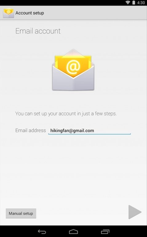 Google E-mail Android image 7
