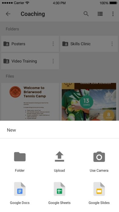 Google Drive - Online Storage - Download for iPhone Free
