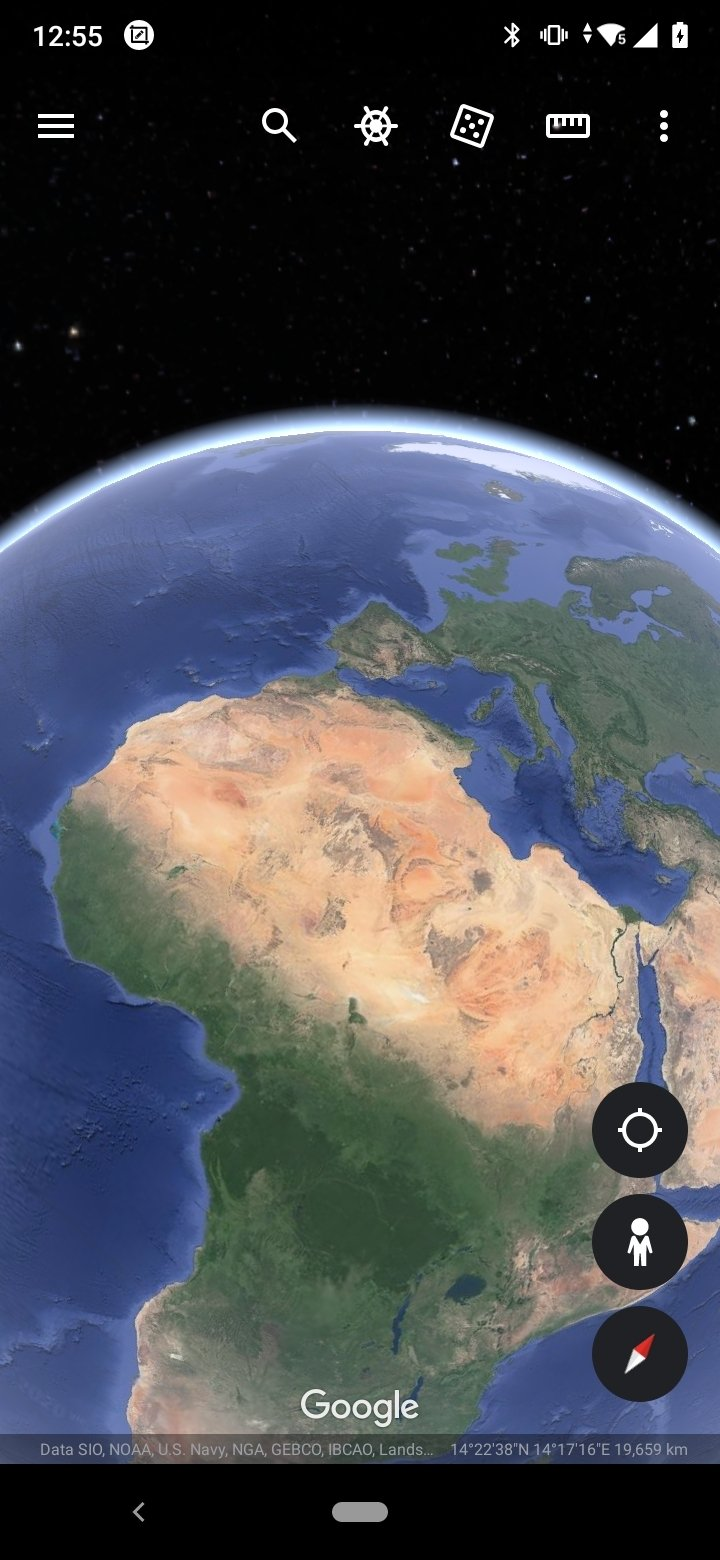 Google Earth Android image 8