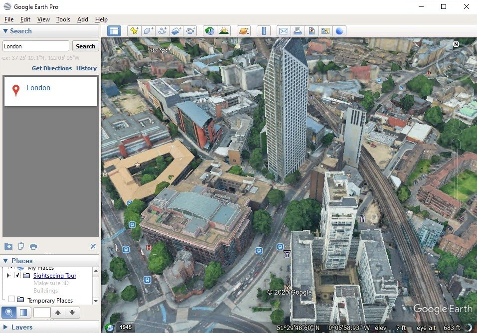 Google Earth 7 3 2 5776 - Download for PC Free