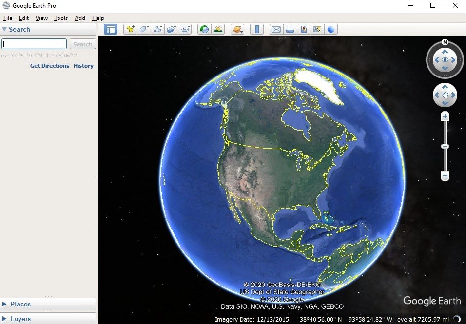 Google Earth 7.3.2.5776 - Download for PC Free on google maps car, google street view, europe map, from google to map, satellite map, street view map, virtual earth map, world map, flat earth map, google maps italy, google latitude, gis map, google us map, google moon map, earth view map, bing map, the earth map, united states map, google sky, google africa map,