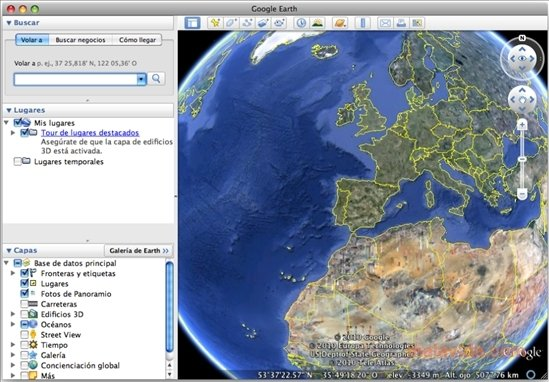Google Earth Mac image 4