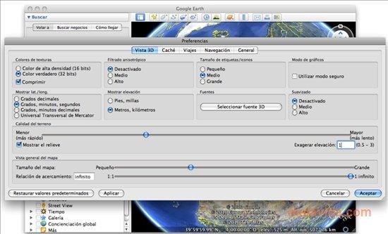 Passer d'un repère à l'autre en fixant l'altitude  GE  MAC Google-earth-8288-4
