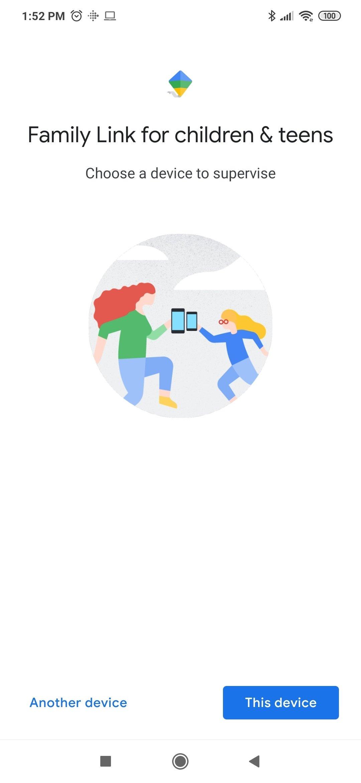 向け リンク お子様 google iphone ファミリー