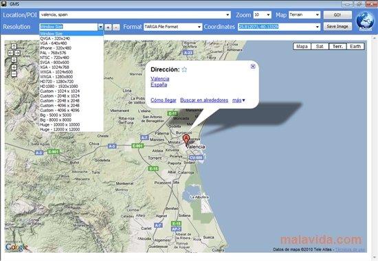 Google Map Saver 1.0.3 - Download für PC Kostenlos on