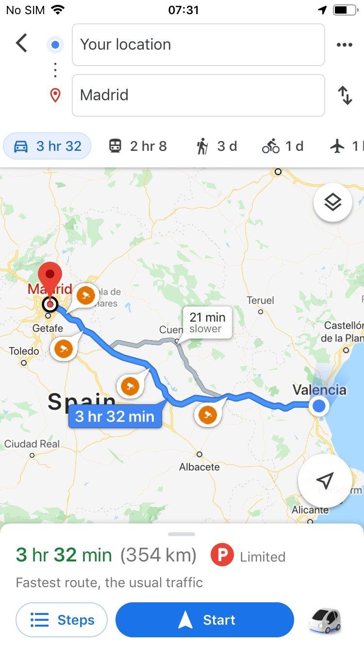 Google Maps - Download für iPhone Kostenlos on
