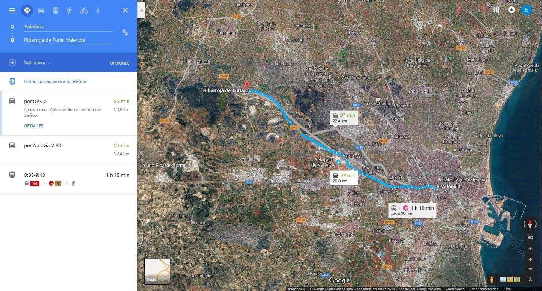Google Maps Online (English) - Free on