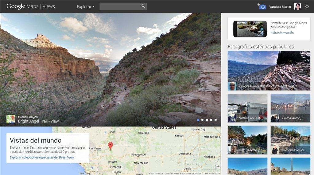 Google Maps Views Online auf Deutsch - Kostenlos