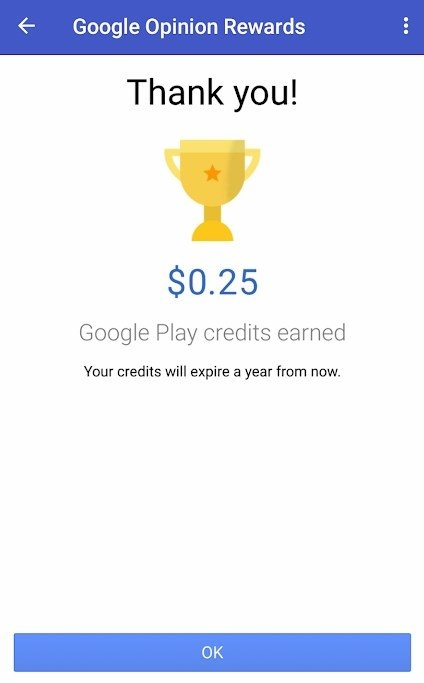 Google Opinion Rewards Android image 6