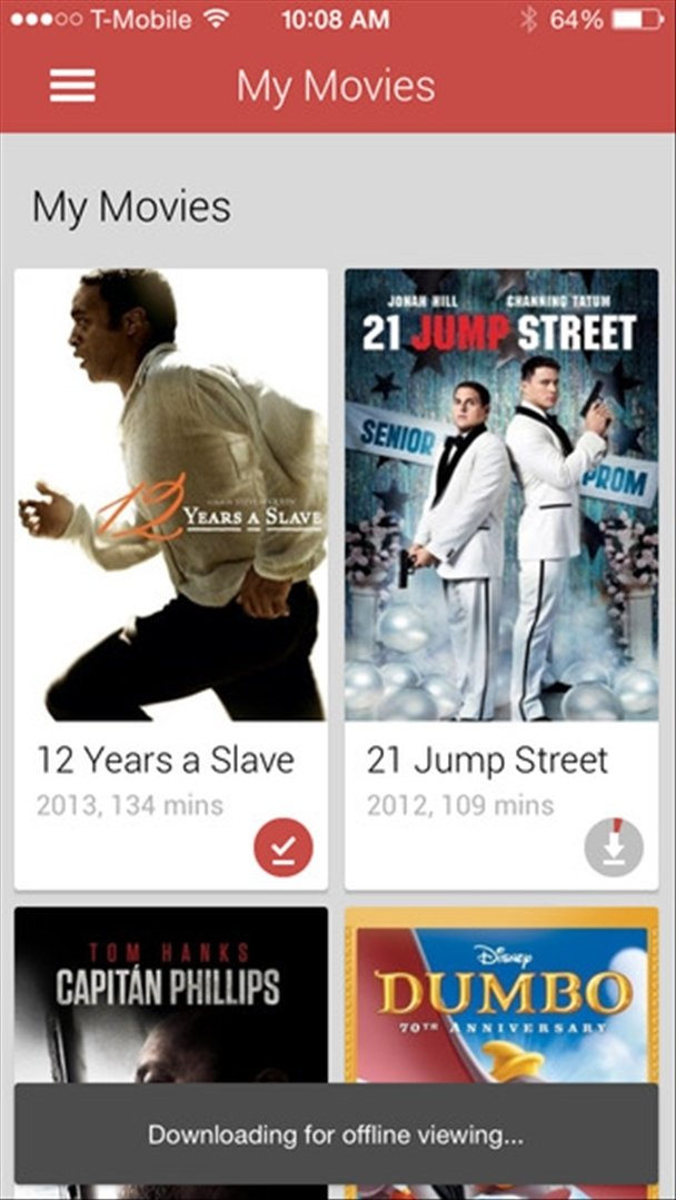 Google Play Movies & TV iPhone image 4