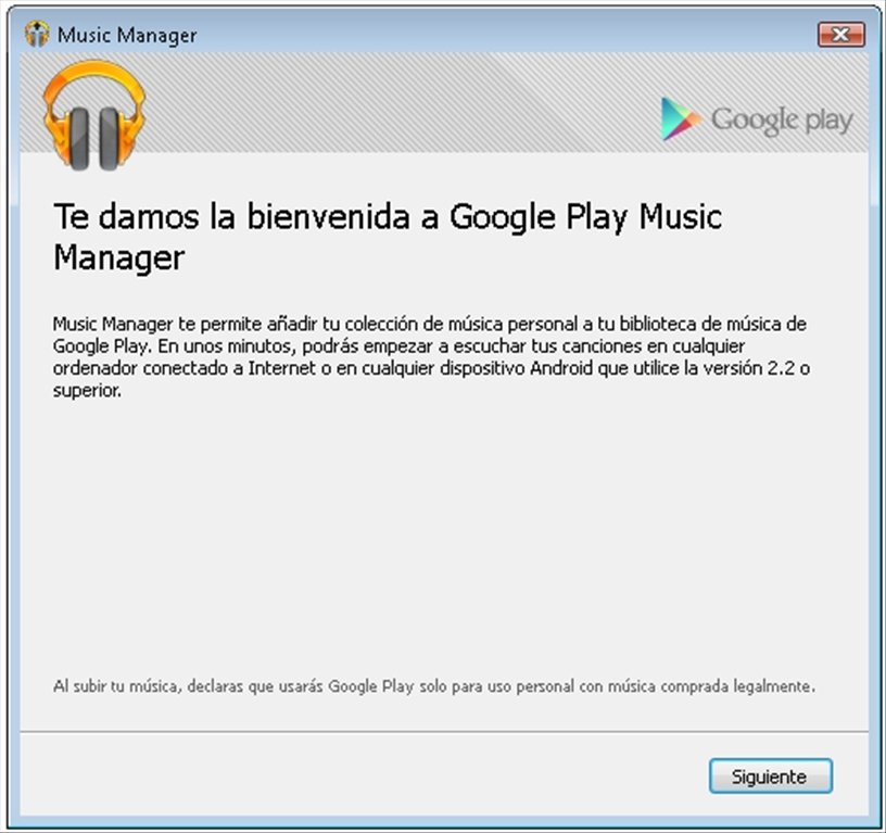 Google Play Music Manager 1 0 457 3796 - Download for PC