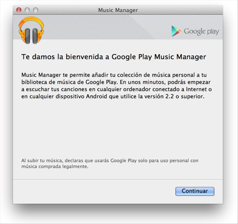Google Play Music Manager Mac image 5