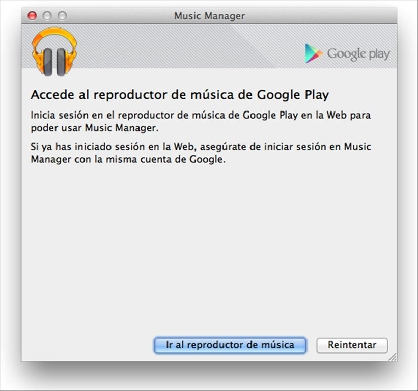 Download Google Play Music Manager For Mac