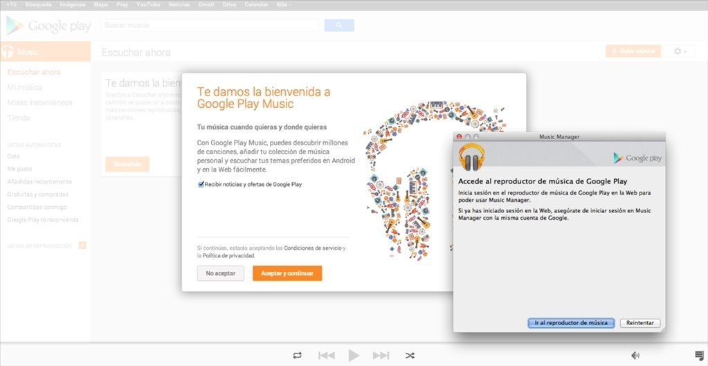 Google Play Music Manager 1 0 216 5719 - Descargar para Mac Gratis