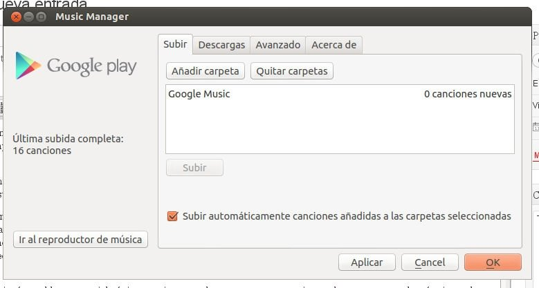 Google Play Music Manager Linux image 2