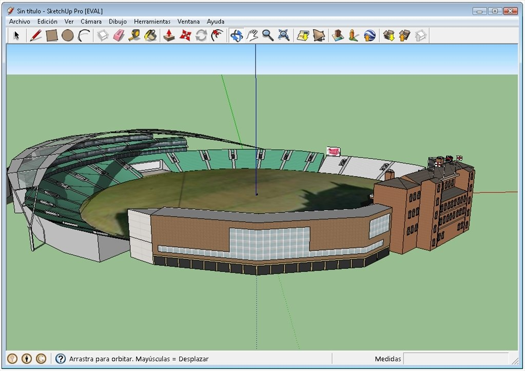 Google SketchUp 8.0 Free Download For Windows