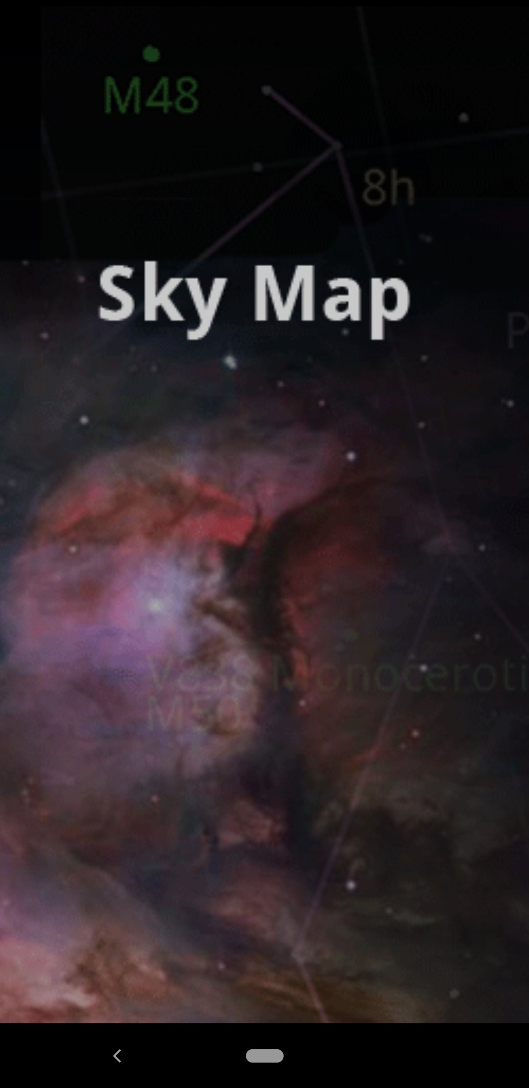 Google Sky Map Android image 6